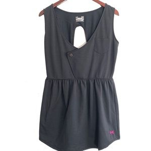 Under Armour Size Large Sport Swim Cover Up Black